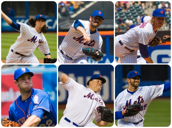 Harvey deGrom Syndergaard Matz Colon Niese