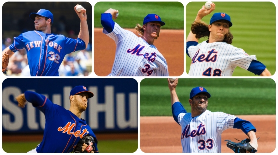 Harvey Wheeler Syndergaard Matz deGrom