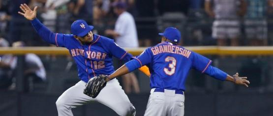 Granderson Lagares Mets Win
