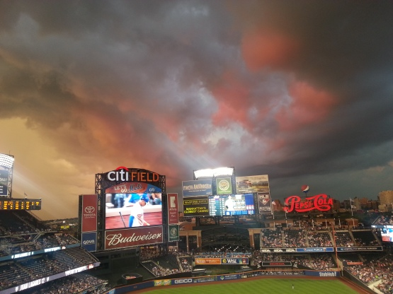 Citi Field sunset