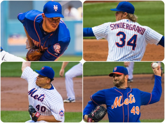 Matz Syndergaard Colon Niese
