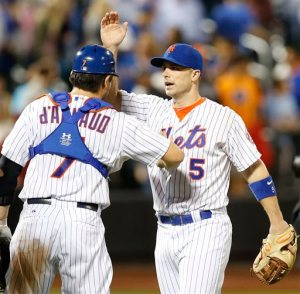 Travis d'Arnaud, David Wright