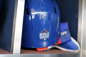 David Wright's helmet