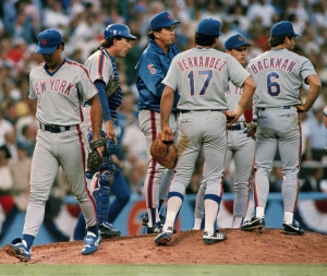 Mets vs Dodgers NL Playoffs 1988