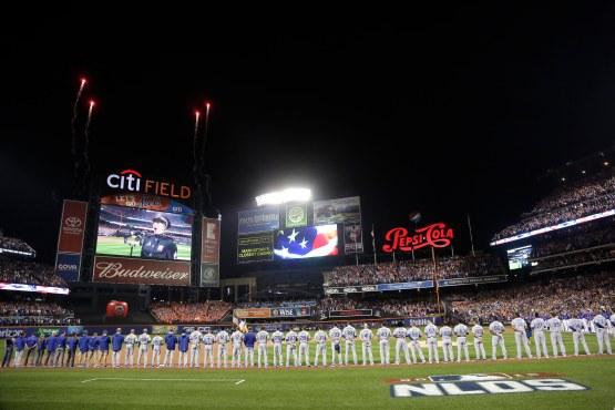 NLDS Dodgers Mets Baseball