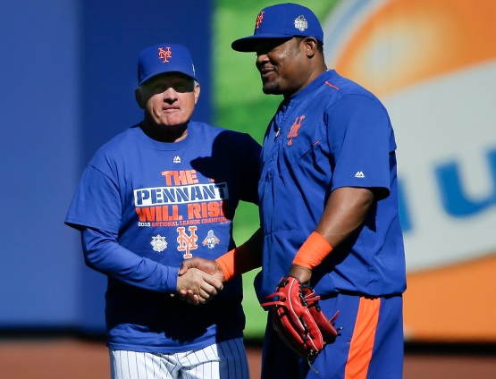 Terry Collins Juan Uribe