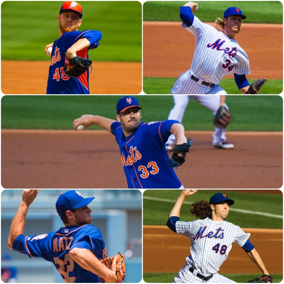 Wheeler Syndergaard Harvey Matz deGrom